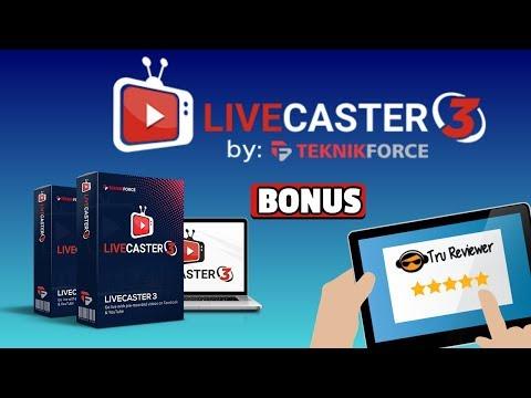 Livecaster 3 Review Bonus -DON'T Pass this one up - Massive Mega Bonus. http://bit.ly/2Zl4xEJ