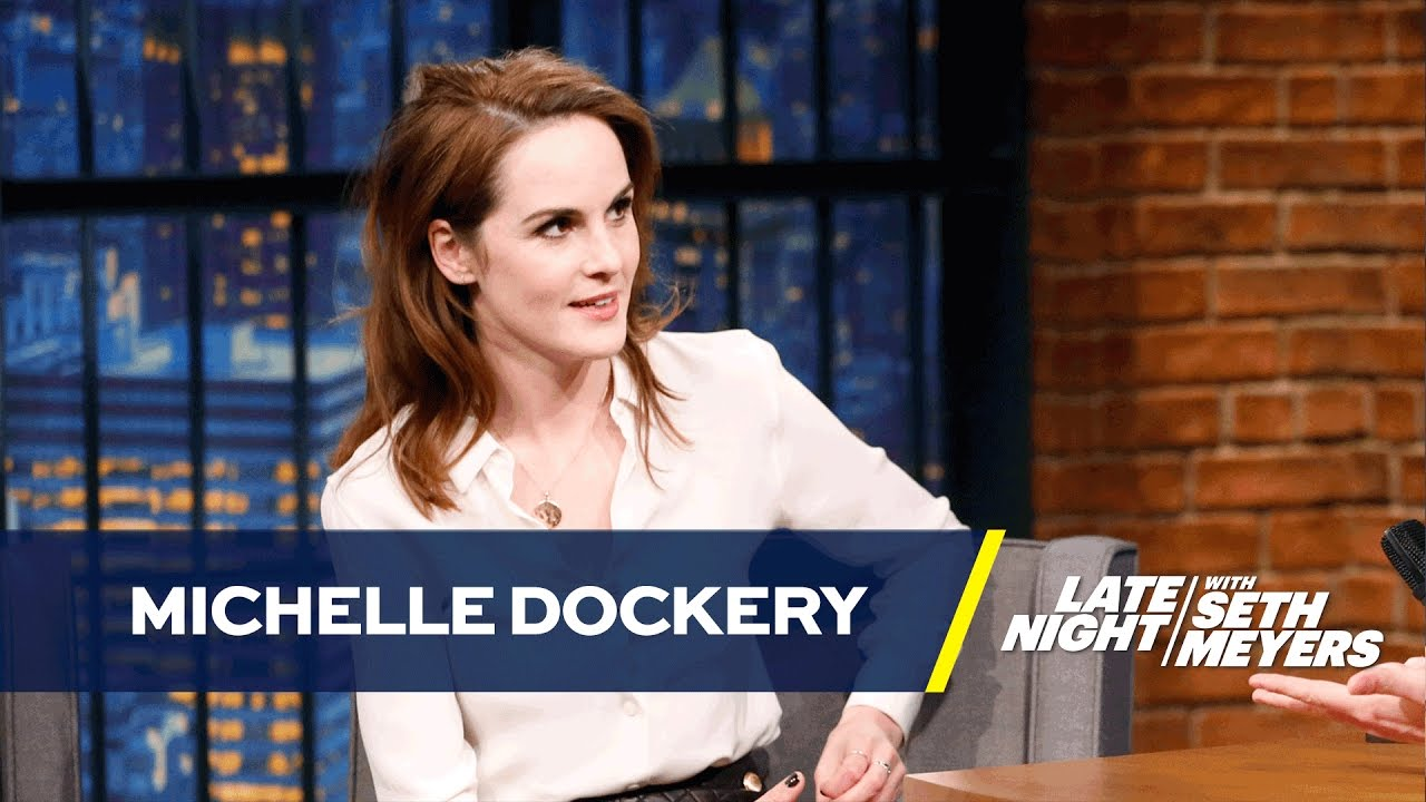 Download Michelle Dockery Sinks from Downton Abbey Nobility to a Drug Addict Thief