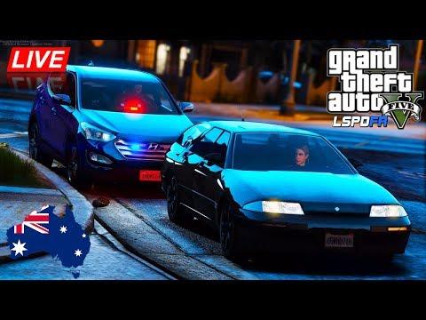 GTA 5 - LSPDFR Australia LIVE - Undercover ACT Police Patrol in Unmarked Santa Fe