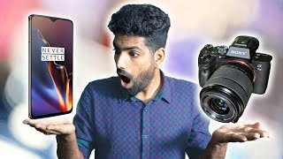 OnePlus 6T vs Sony A7iii Professional Camera Video Comparison - MINDBLOWING!!!