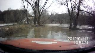 Разлив реки Десна подмосковье 2012. Брод.(, 2013-06-18T11:49:26.000Z)