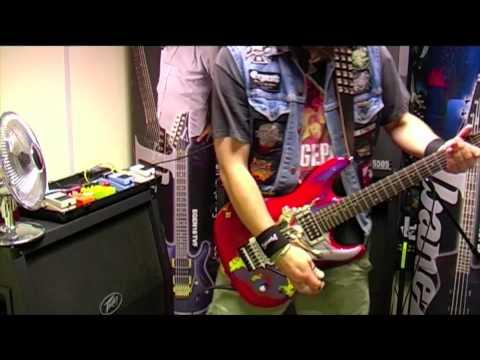Ibanez Joe Satriani JS20th Anniversary Prestige Guitar demo