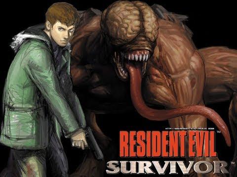 Resident Evil: Gun Survivor (полное прохождение, все пути, концовки) PS1 Rus