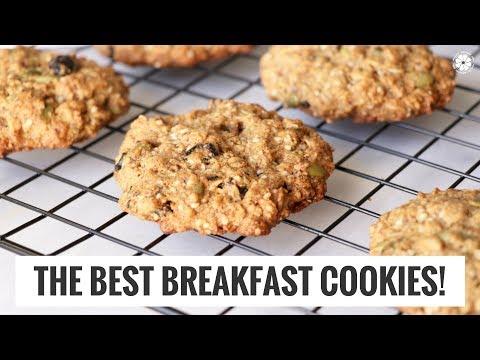 The Best Breakfast Cookies | Gluten-Free, Vegan, Quick Healthy Recipe