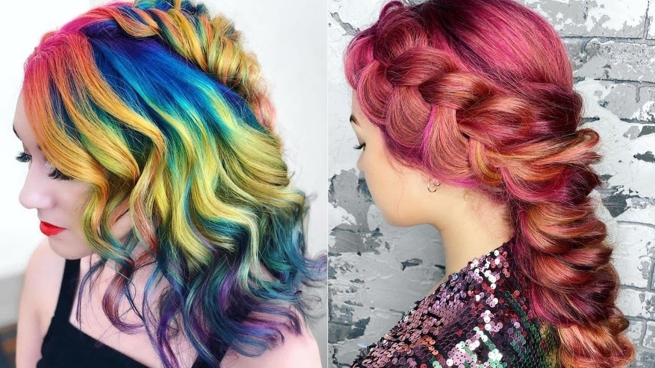 Awesome Multi Hair Coloring and Styling Videos | Latest Hair Coloring Hacks for Women 2020