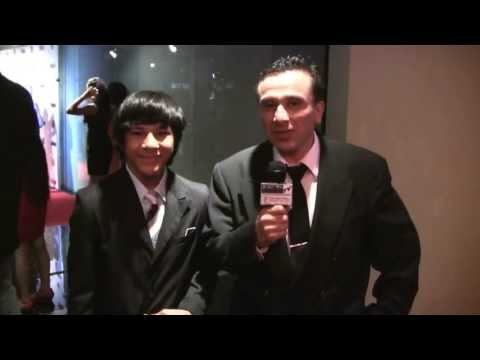 Joey Valdez interviews nominee and actor Tai Urban  at the 1st Annual EOTM Awards 2013
