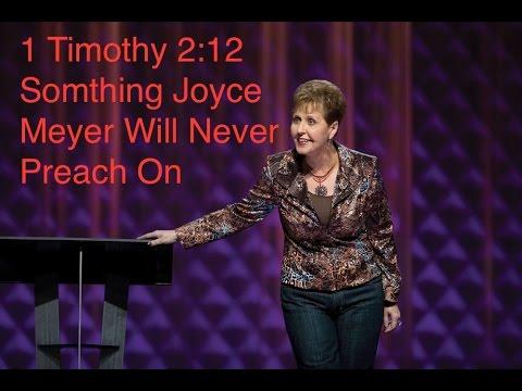 """Women Preachers"" 1 Timothy 2:12, Faithful Word Baptist Pastor Anderson"