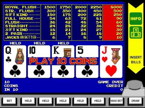 Video Poker Old School