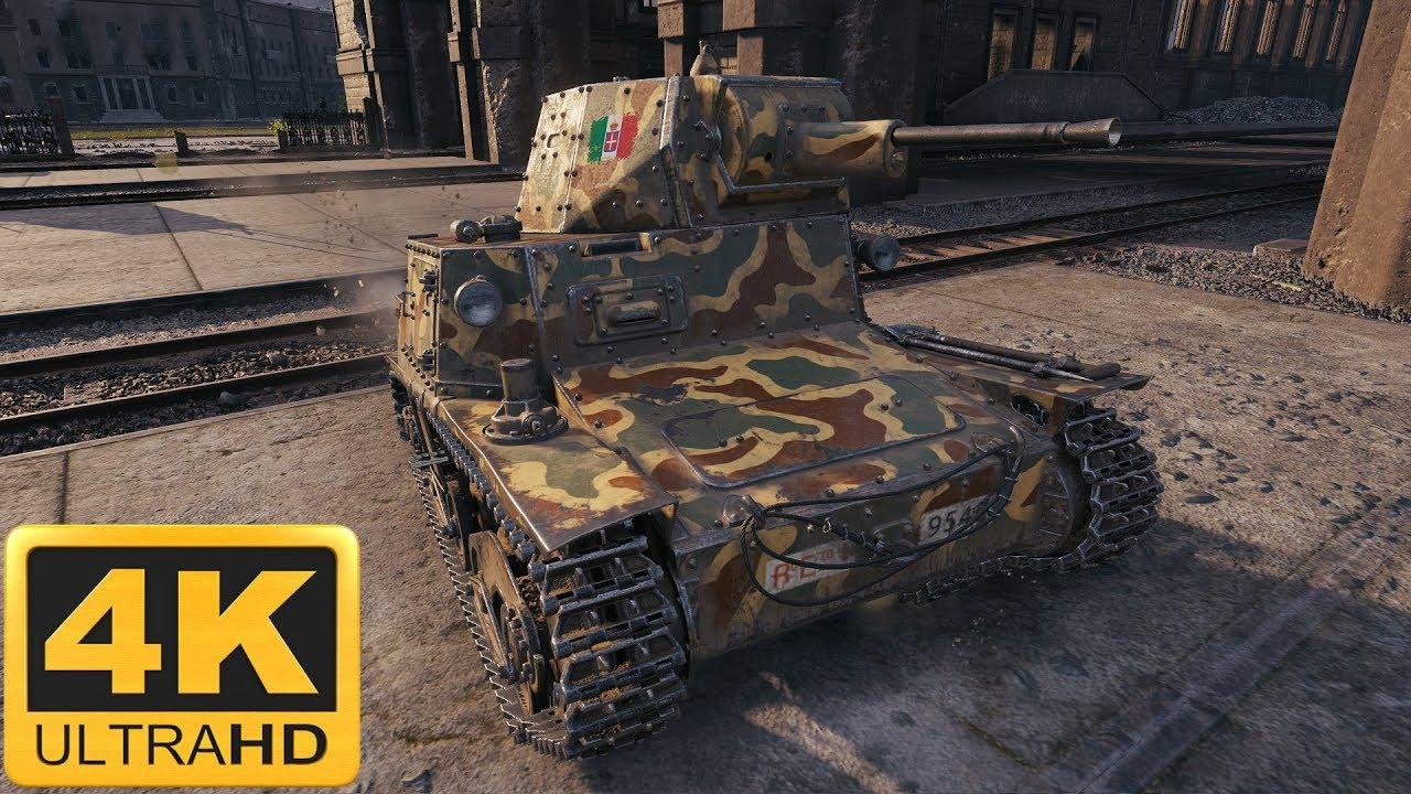 World of Tanks L6/40 an Italian tier 2 light tank - Kurg79
