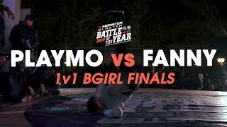Playmo vs Fanny [1v1 Bgirl Final] // .stance // Battle of the Year France 2018