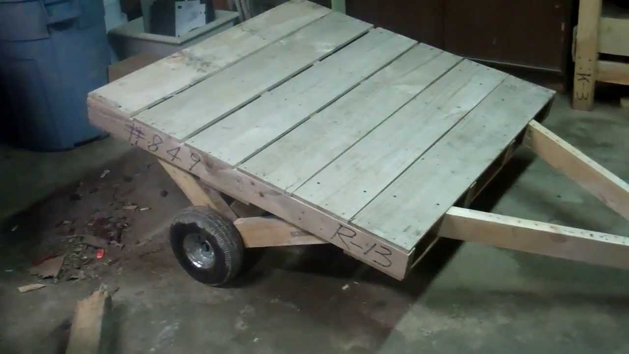 How Build Garden Utility Cart