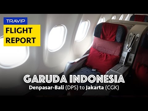 Experience Garuda Indonesia Airbus A330-300: Denpasar to Jakarta