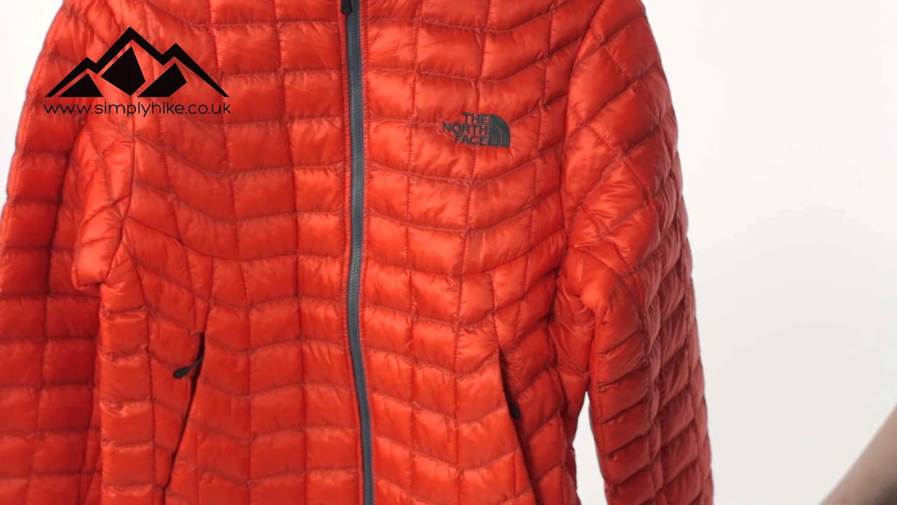 The North Face Mens Thermoball Jacket Seville Orange Wwwsimplyhikecouk