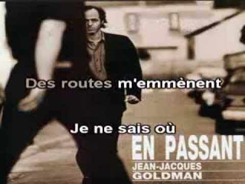 """Karaoké Jean-Jacques Goldman """"En passant"""""""