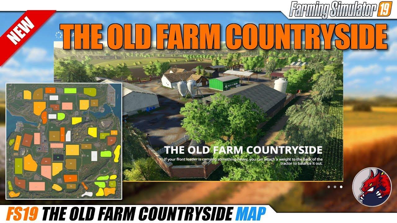 The Old Farm Countryside v2 0 | FS19 mods, Farming simulator 19 mods