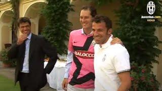 La Juventus ospite a Villa Agnelli - Juventus guest at Villa Agnelli