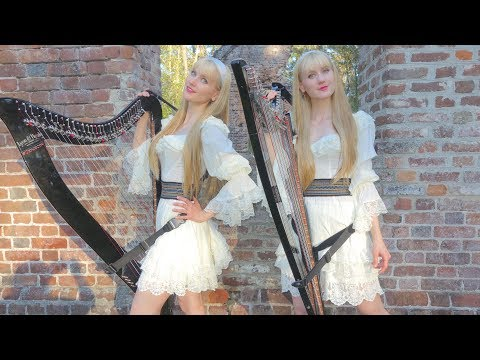 all-through-the-night---harp-twins,-camille-and-kennerly