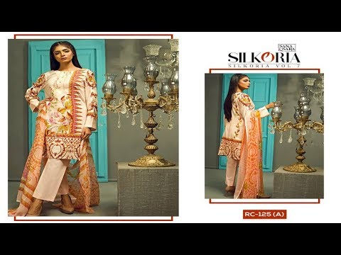 0e010137ac Latest Sana & Sara Silkoria Vol 7 Collection | Fashion World - YouTube