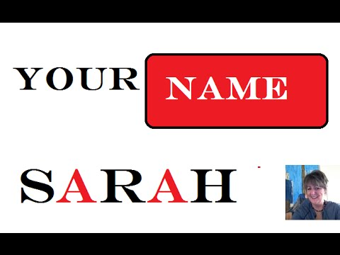 Sarah : 1st  Name Means