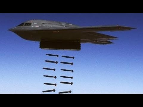 News Weapons Of War2017 -  B-2 Stealth Doing Carpet Bombing B 2  Drop and  More