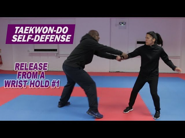 Taekwon-Do Self-Defense: Release from a wrist hold #1