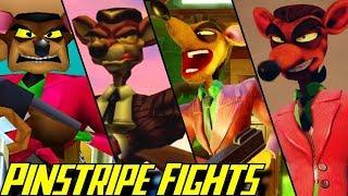 Evolution of Pinstripe Potoroo Battles in Crash Bandicoot Games (1996-2019)