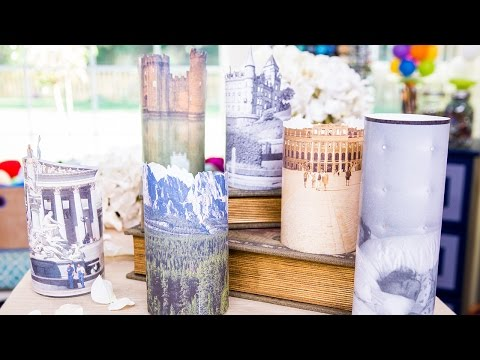 Home & Family - DIY Memory Lights with Tanya Memme