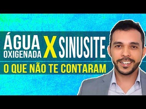 TRATAR RINITE E SINUSITE COM ÁGUA OXIGENADA: CURA MESMO?