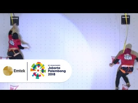 Highlight Final Sport Climbing | Gempita Asian Games 2018