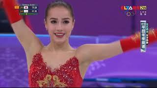 2018平昌冬奧│2/21 花式滑冰 女單長曲 札奇托娃(俄羅斯) 金牌