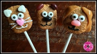 Fig Bar Animal Pops - Cute & Easy!