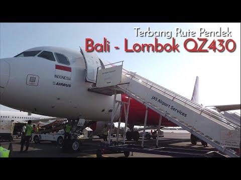 Air Asia Bali - Lombok QZ430, Pesawat Airbus A320 PK- AZJ