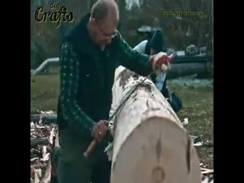 How It's Made Dugout Canoe Credit: Northmen