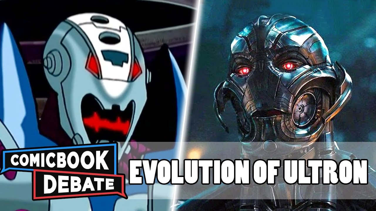 Download Evolution of Ultron in Cartoons, Movies & TV in 8 Minutes (2018)