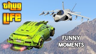 GTA 5 ONLINE : THUG LIFE AND FUNNY MOMENTS (WINS & FAILS #134)