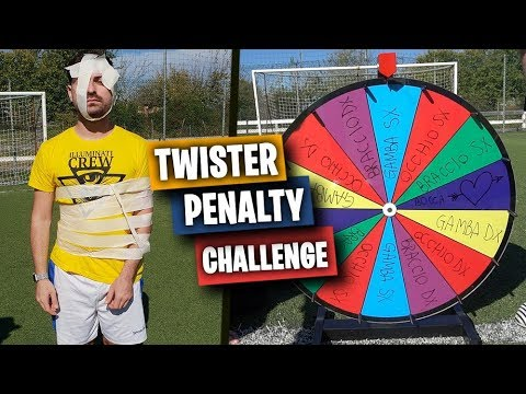 ⚽ TWISTER PENALTY FOOTBALL CHALLENGE! con ILLUMINATICREW