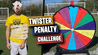 ⚽ TWISTER PENALTY FOOTBALL CHALLENGE con ILLUMINATICREW