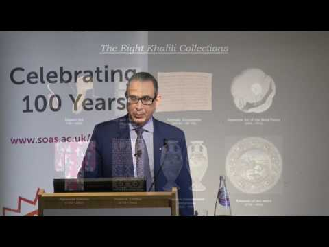 The Art of Collecting, Professor Nasser David Khalili, SOAS University of London