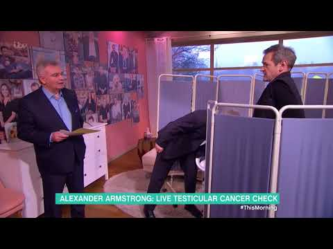 Alexander Armstrong Has His Testicles Checked for Cancer  This Morning