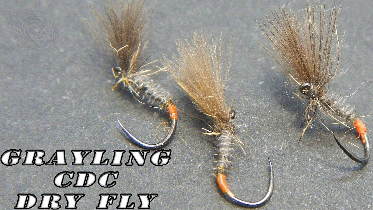 RED TAG DRY FLY FISHING FLIES 12 x #18