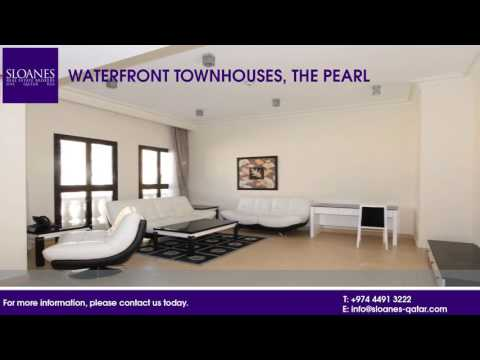 Lovely waterfront townhouses in The Pearl