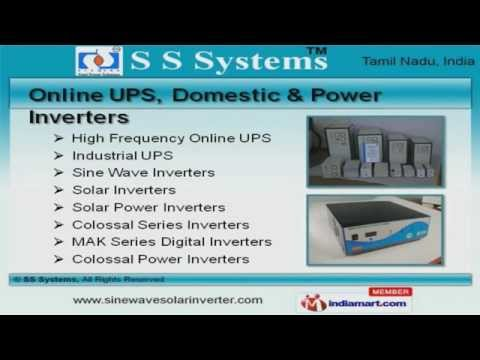 Power Supply Products By SS Systems, Coimbatore