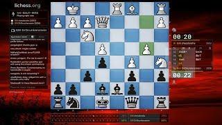 ♚ Magnus Carlsen (DrDrunkenstein) vs Hansen 🔥 30 Second Bullet Chess on Lichess  February 5, 2018