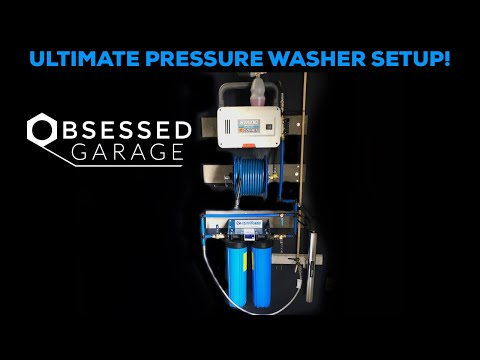 CLEANING UP THE SHOP PT.4 | ULTIMATE PRESSURE WASHER SETUP!   *spotless rinse*