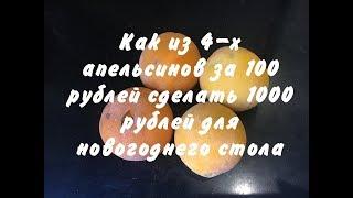 Рецепты к Новому Году 2018. Как из 100 рублей сделать 1000 рублей для новогоднего стола