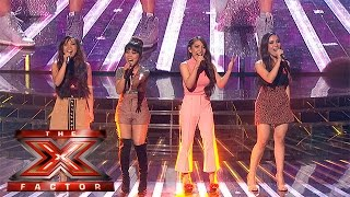 4th impact performs for their place in the competition week 5 results the x factor 2015