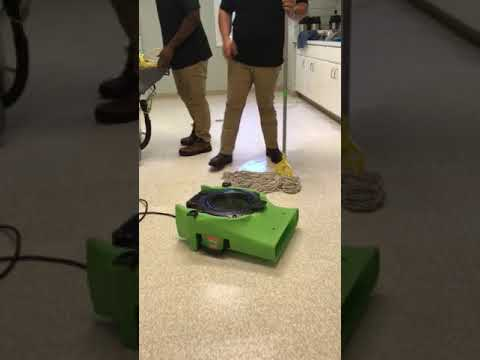Cleaning tile floors