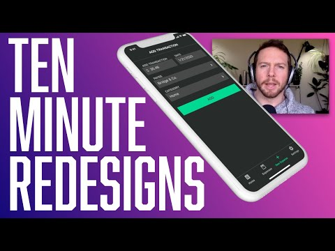 UI Tutorial: Redesigning The SpendWeek App (in 10 Min)