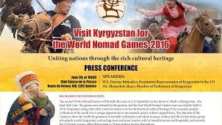 Visitez le Kirghizistan pour les Jeux Nomades Mondiaux