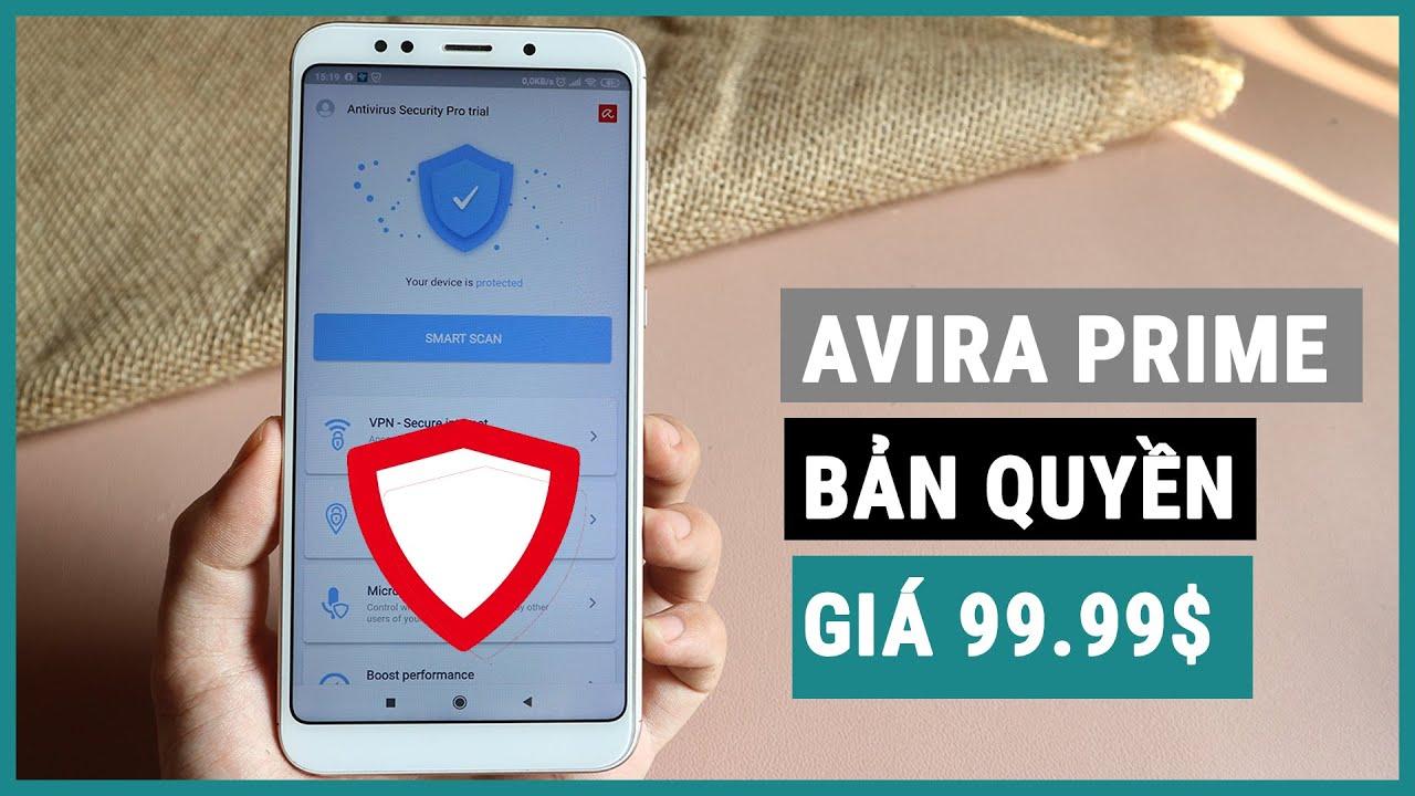 Nhận bản quyền app diệt virus Avira Prime giá 99.99$ cho điện thoại miễn phí | Ghiền smartphone